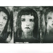 Three Sisters Etching 11